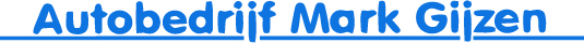Autobedrijf Mark Gijzen logo